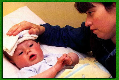 Как лечить ребёнка с температурой 38 8 месяцев